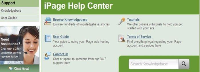 Servicio de Atención al Cliente en iPage