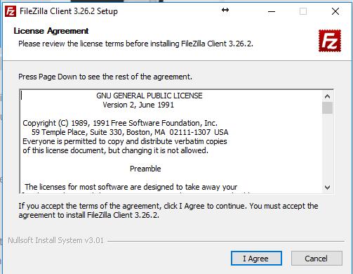 instalar filezilla
