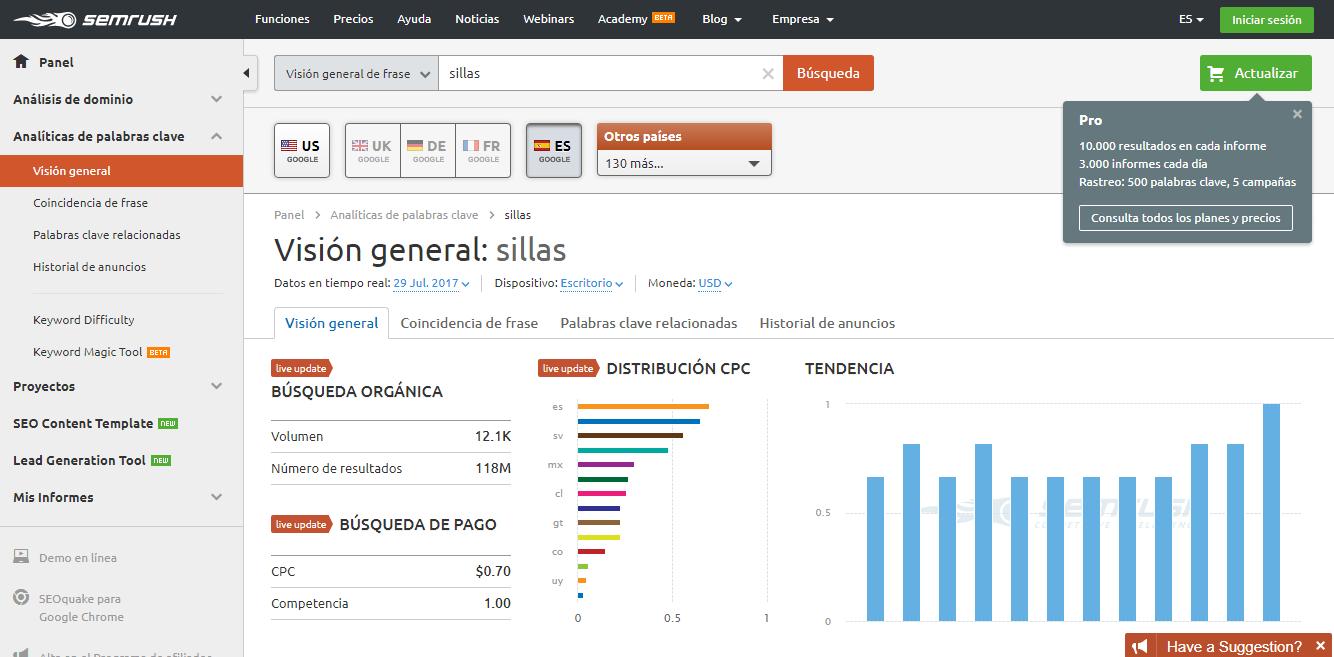 palabras clave para seo - buscar palabras clave - buscar herramientas - herramientas palabras clave