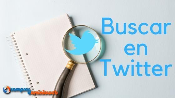 Buscar en Twitter ¿Cómo?